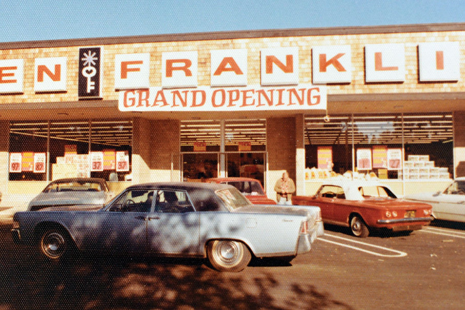 Ben Franklin Grand Opening: October 3, 1973