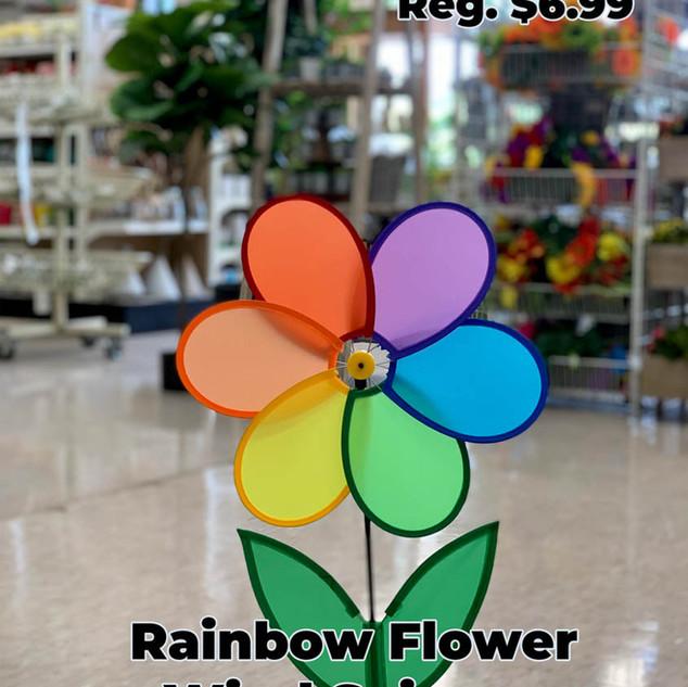 Rainbow Flower Wind Spinner.JPG