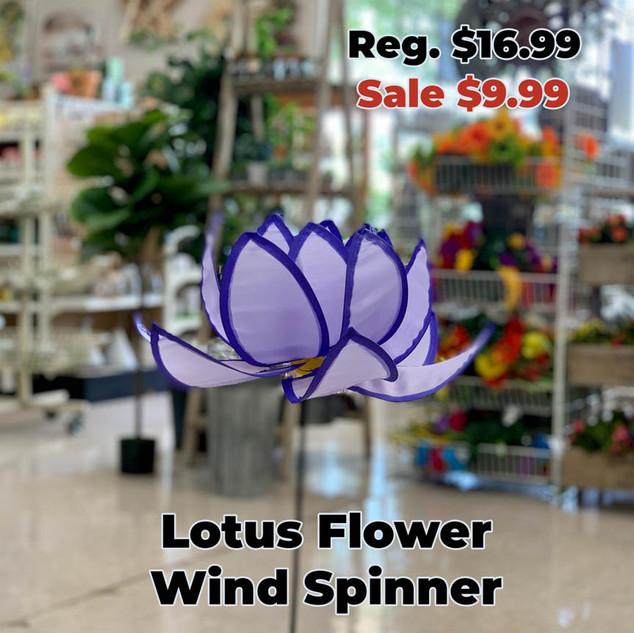 Lotus Flower Wind Spinner.JPG