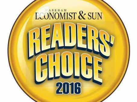 2016 Readers' Choice Award
