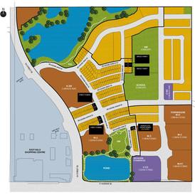 Belvedere lot map