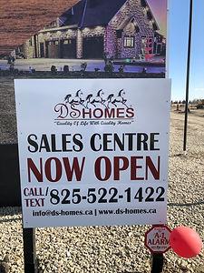 Sales centre open!