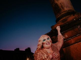 Dumfries Christmas Light Switch-On Photoshoot: December 2019
