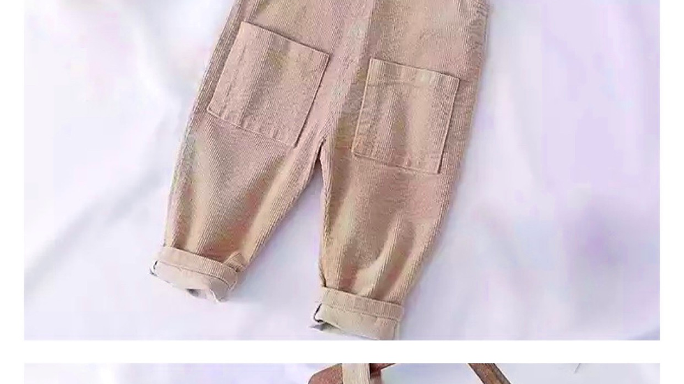 Otto oversized overalls X beige