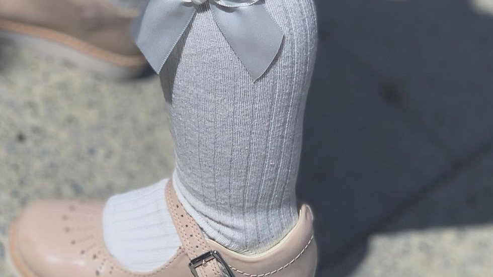 Bowbelle Socks X WHITE