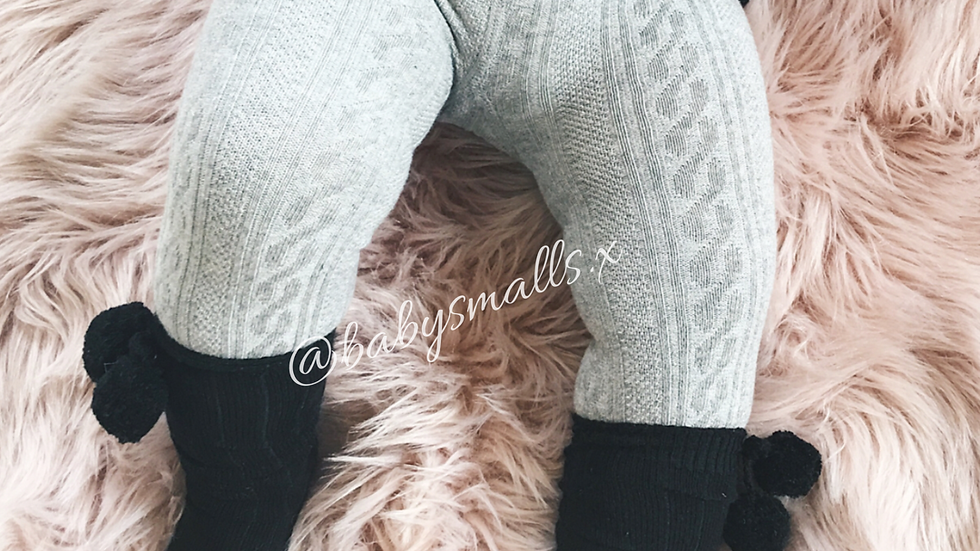 Cable Knit X ESSENTIAL Leggings