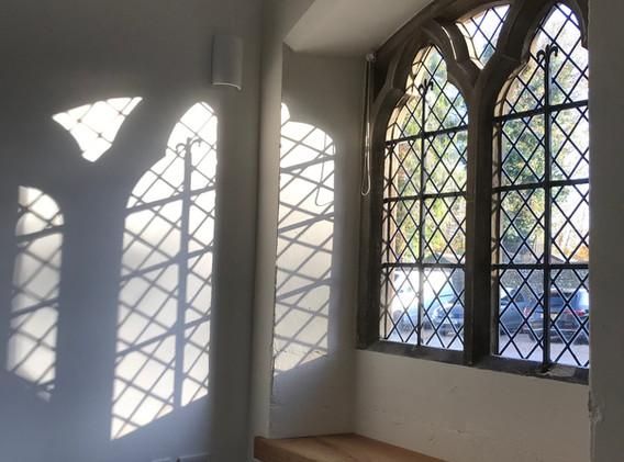 5 Resurrection Chapel window and window