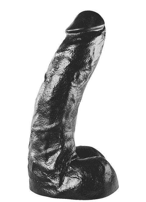 All Black Dildo XXL 25.5 x 6.5 cm