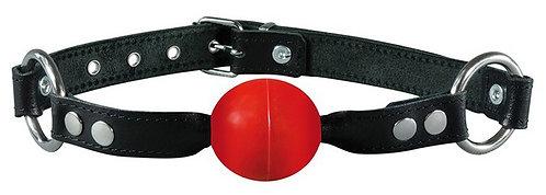 Baillon boule Simply Gag 4cm Rouge