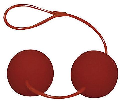 Boules anales rouges - 3.4 cm