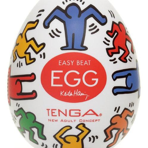 Tenga Egg Dance by Keith Haring