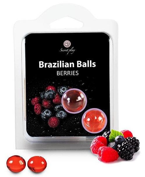 Boules de massage BRAZILIAN BALLS Fruits des bois