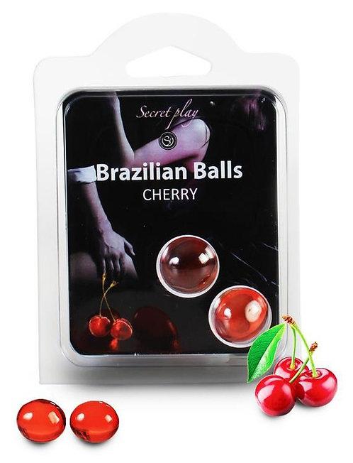 Boules de massage BRAZILIAN BALLS Cerise
