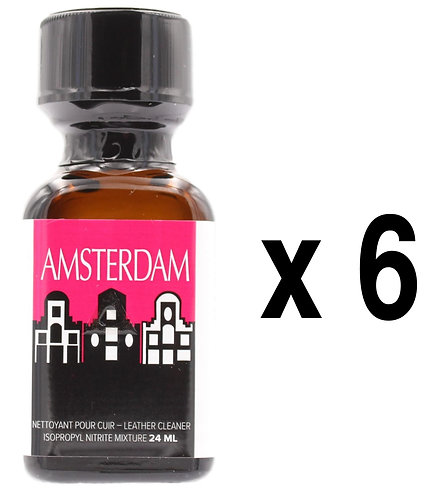 Amsterdam Poppers 24ml x6