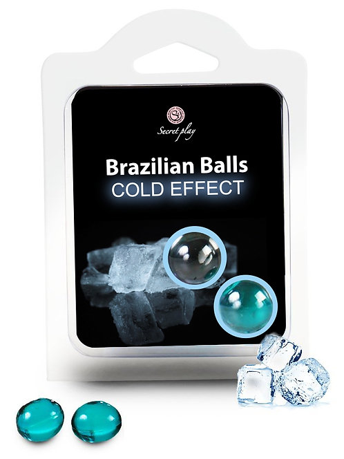 Boules de massage BRAZILIAN BALLS Effet froid