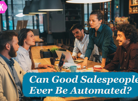 Can Good Salespeople Ever Be Automated?