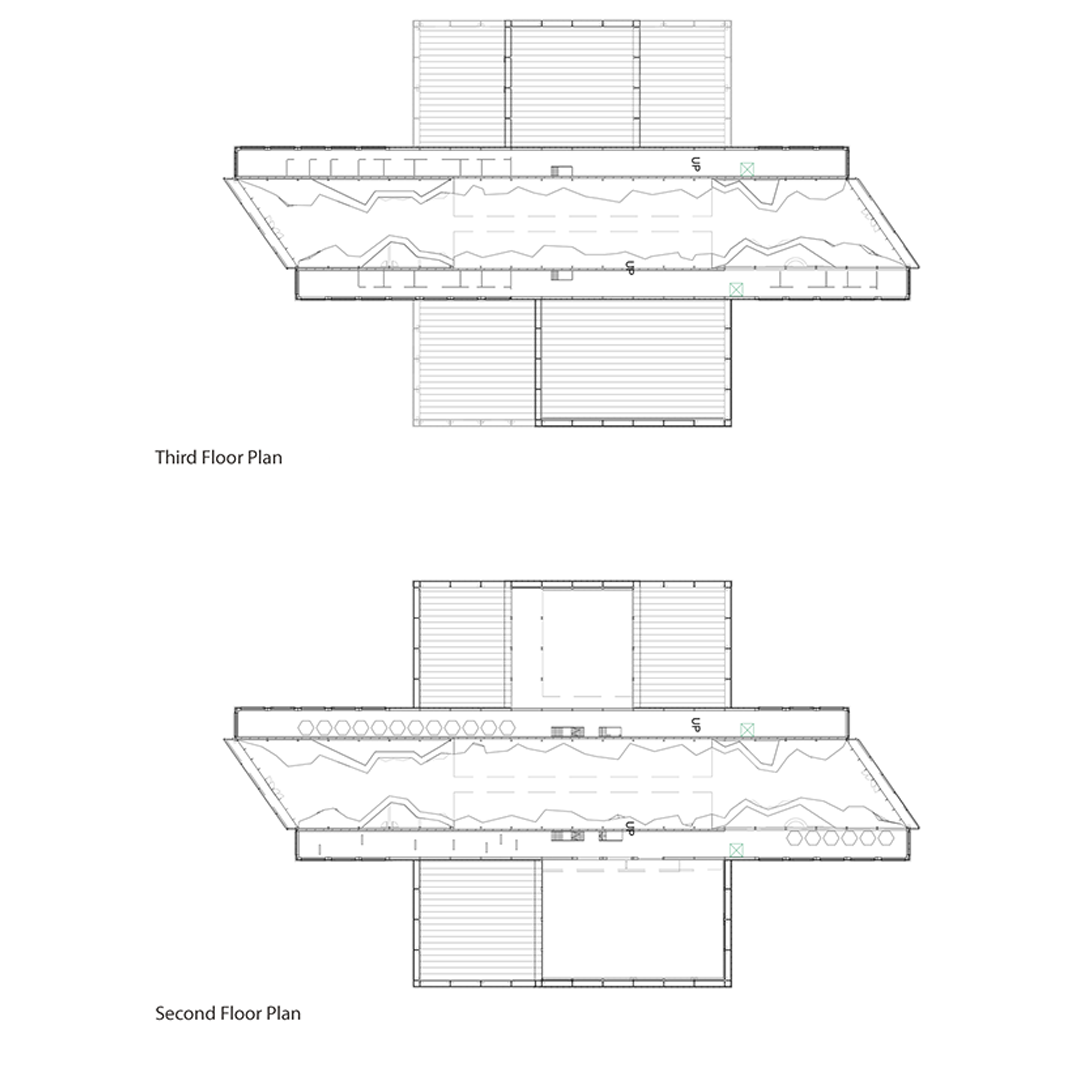 Second and Third Floor Plan