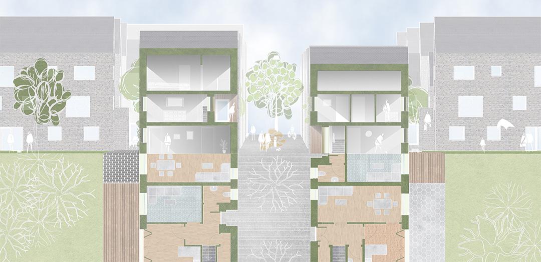 Cross Section & Floor Plan
