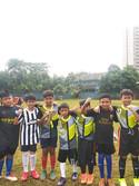 Our futsal team with coach Romi