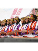 Saman Dance performance in Islamic Village Expo 2020