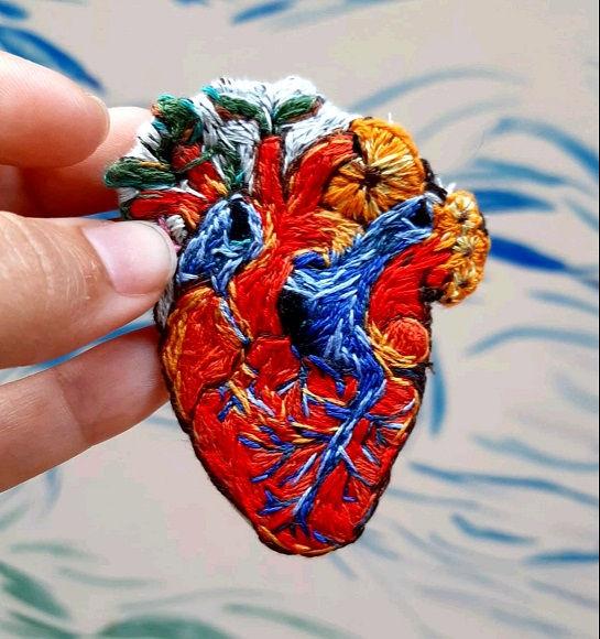 Bordado Corazón en flor, 2020..jpg