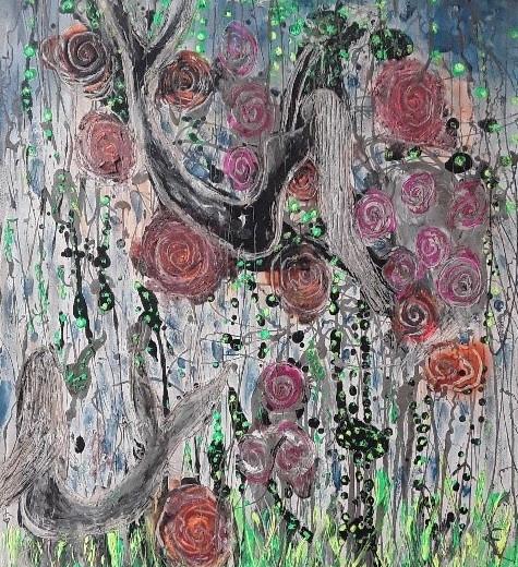 Sirenas y rosas.