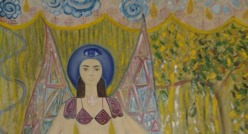 Diosa del Tercer Ojo.