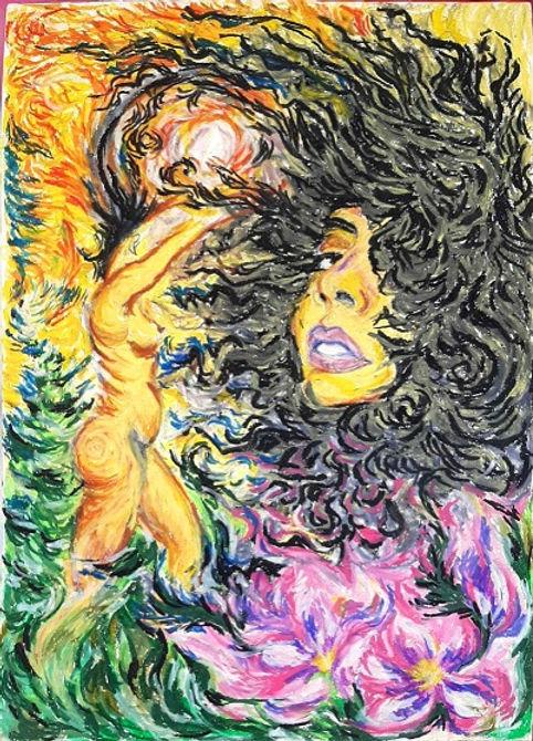 Pintura Amarillo para las tristezas, 201