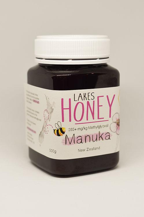 MANUKA HONEY 265+ mg/kg (10+) 500g