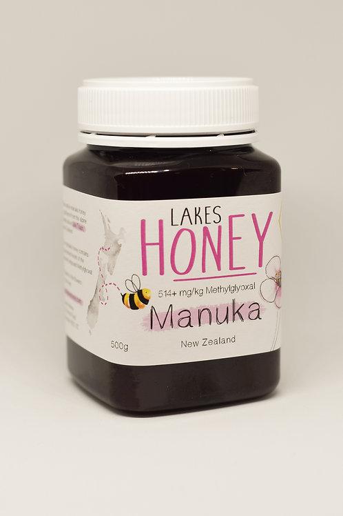 MANUKA HONEY 514+ mg/kg (15+) 500g