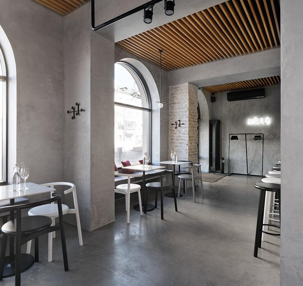 Silent Architecture - Wine's Bar Interio