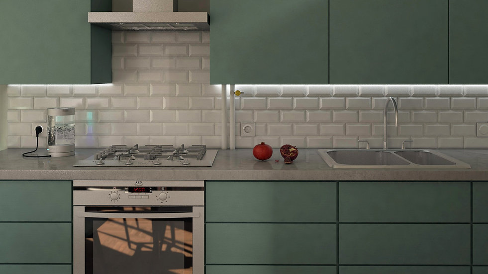 Kitchen-Moscow-Russia-Silent-Architectur