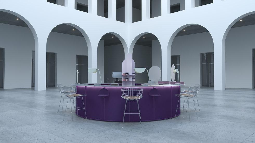 Silent Architecture - Pion Kiosk Design