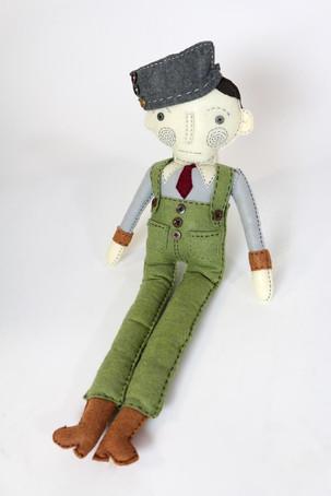 Hand Made Felt Doll #1