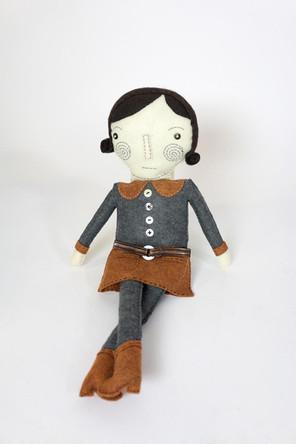 Hand Made Felt Doll #2