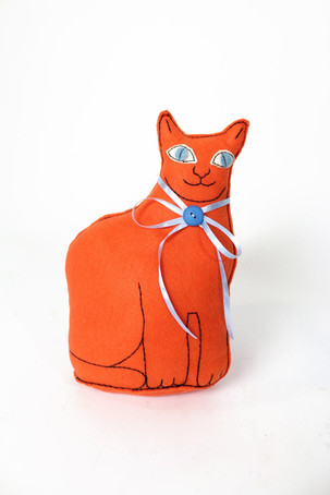 Orange Cat Doll