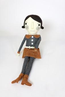 Hand Made Felt Doll #3