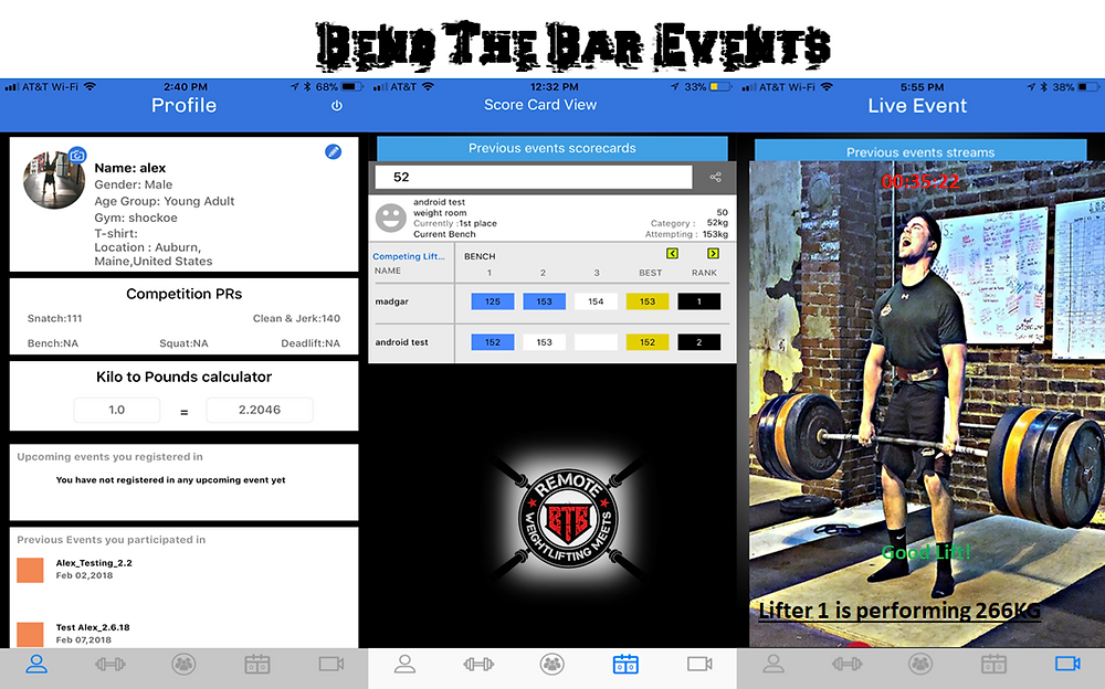 Bend The Bar Events