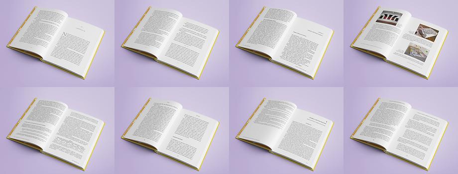 Livros diagramados pela Sem Serifa