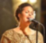Denean sings at LBCS 50th anniversary celeration