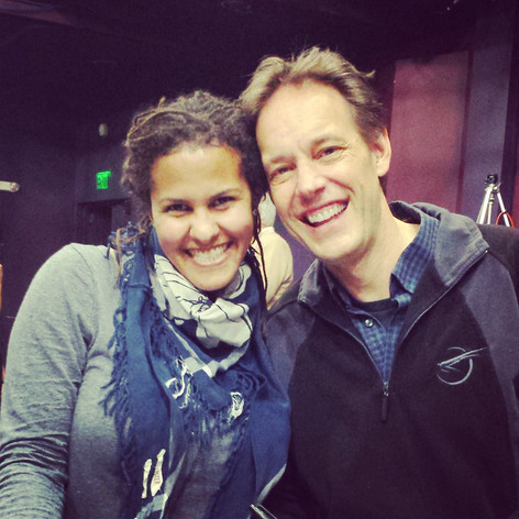 Denean with composer, Jake Heggie