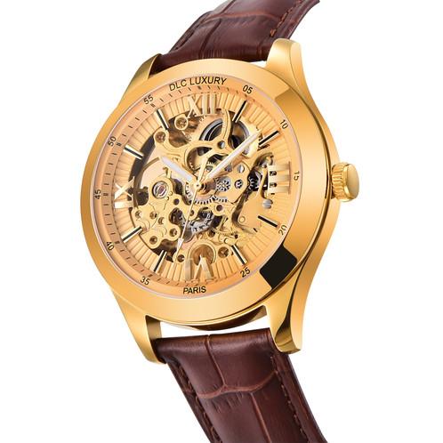 Bracelet cuir homme histoire d'or