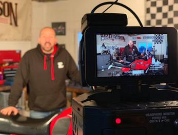 Sam shooting for ABTV