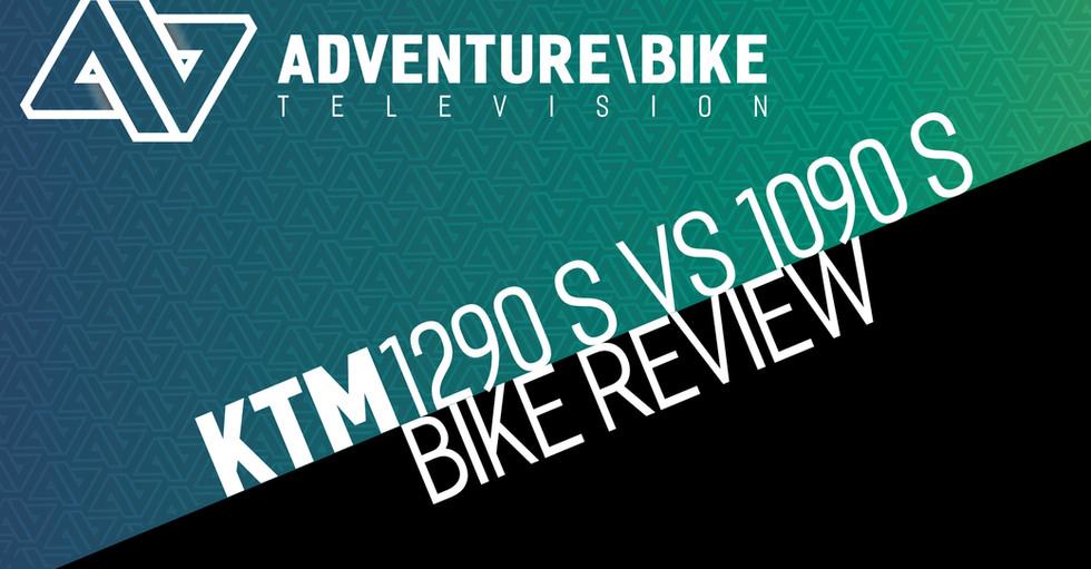 KTM 1290 Super Adventure S vs 1090 Adventure S 2017