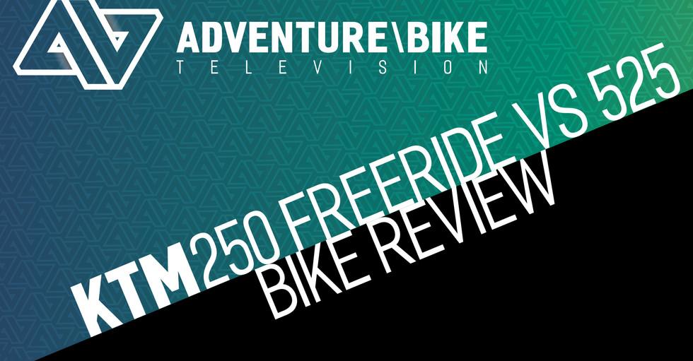 KTM Freeride 250 F 2018vs KTM 525 2006