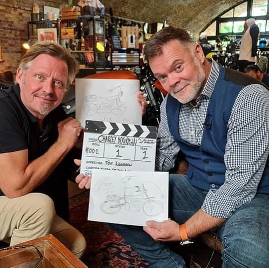 Graham Hoskins with Charley Boorman