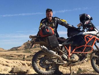 Graham Hoskins in the Desert