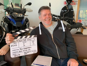 Graham Hoskins about to do many takes