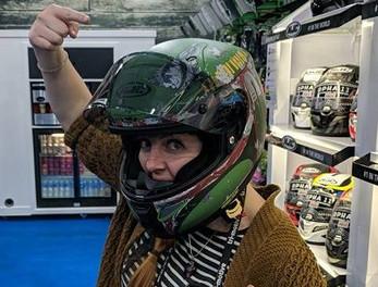 Clares dream helmet