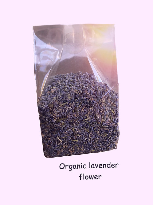Organic Lavender Flower (2oz)